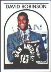 1993-94 Hoops #NNO David Robinson Comm AU