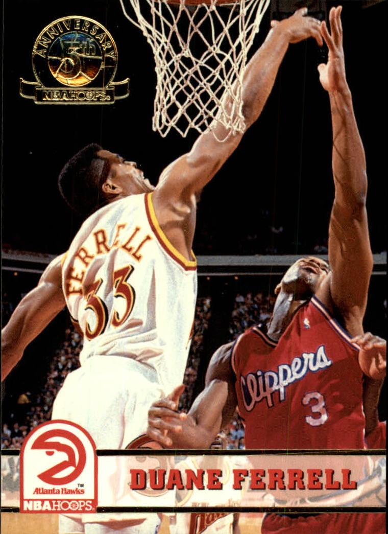 1993-94 Hoops Fifth Anniversary Gold #1 Stacey Augmon