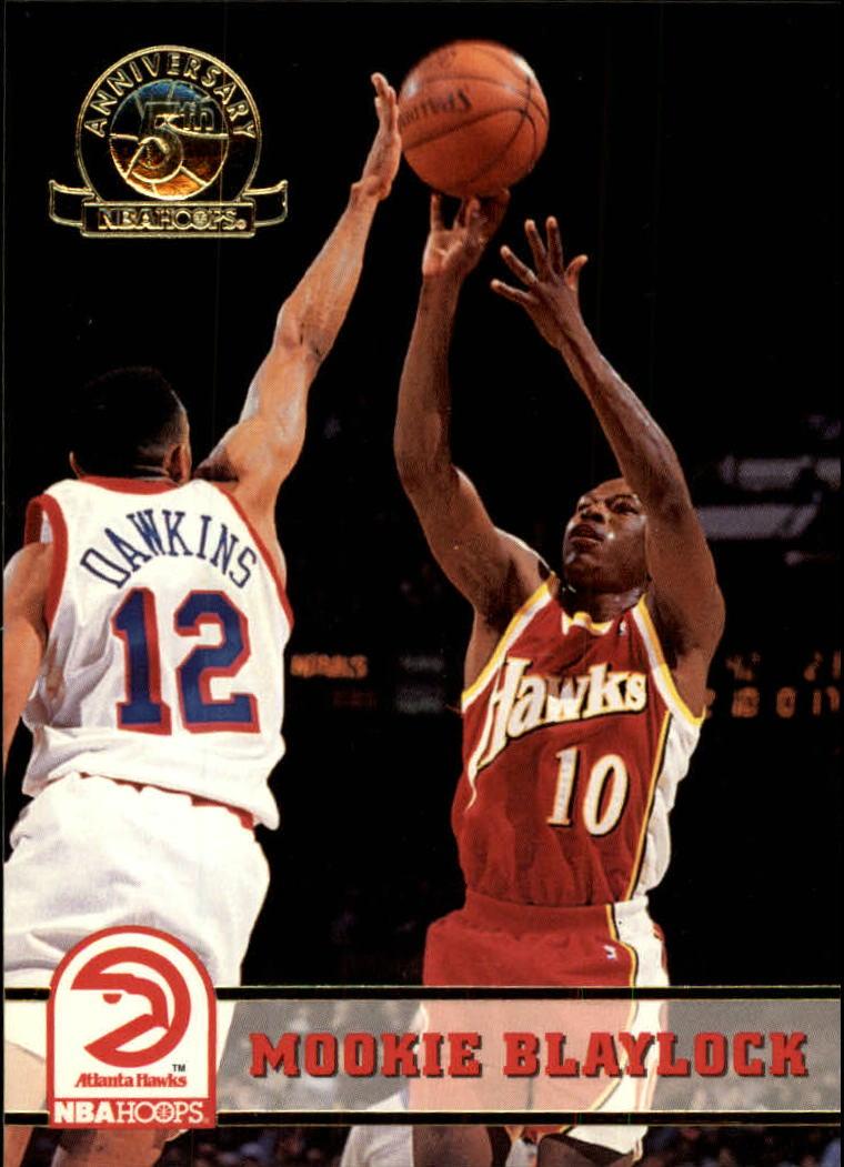 1993-94 Hoops Fifth Anniversary Gold #2 Mookie Blaylock