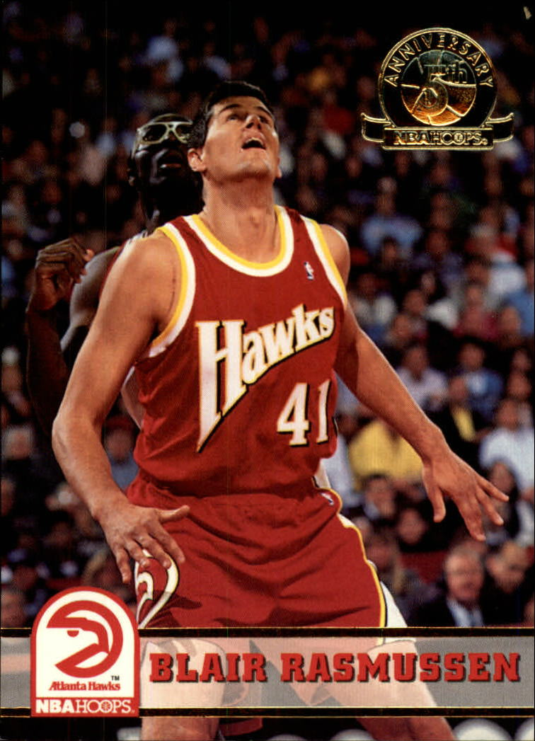 1993-94 Hoops Fifth Anniversary Gold #6 Blair Rasmussen