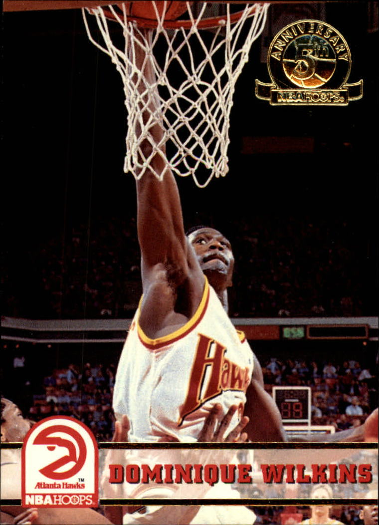 1993-94 Hoops Fifth Anniversary Gold #7 Dominique Wilkins