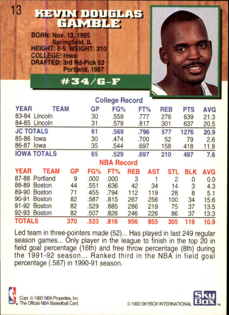 1993-94-Hoops-Fifth-Anniversary-Gold-Basketball-Cards-1-249-Pick-From-List thumbnail 13