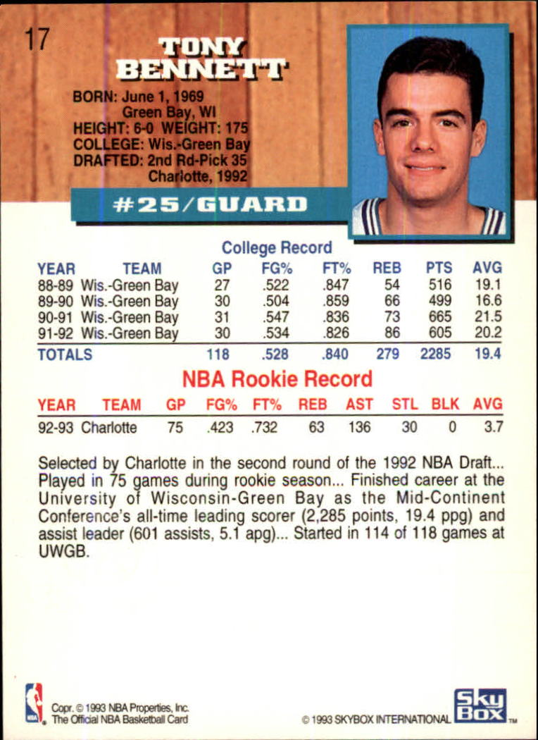 1993-94-Hoops-Fifth-Anniversary-Gold-Basketball-Cards-1-249-Pick-From-List thumbnail 15