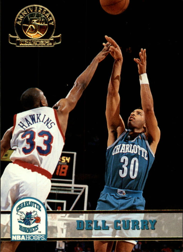 1993-94 Hoops Fifth Anniversary Gold #19 Dell Curry
