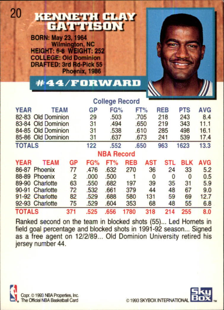 1993-94-Hoops-Fifth-Anniversary-Gold-Basketball-Cards-1-249-Pick-From-List thumbnail 21