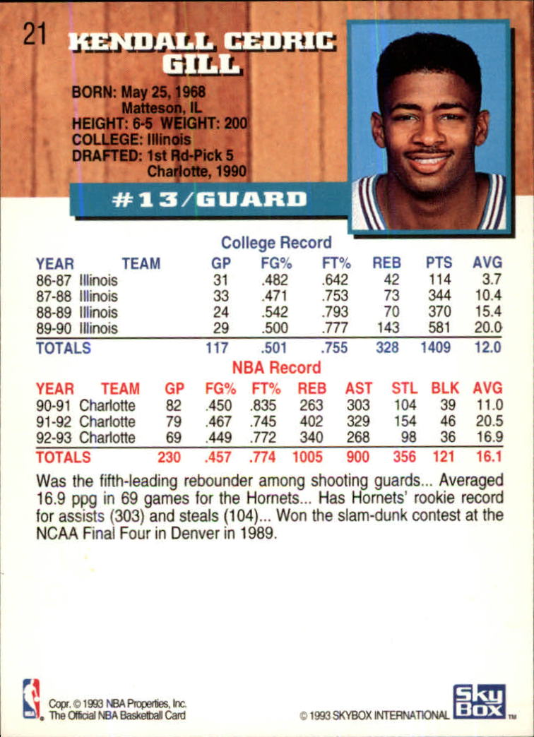 1993-94-Hoops-Fifth-Anniversary-Gold-Basketball-Cards-1-249-Pick-From-List thumbnail 23