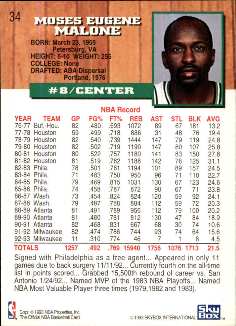 1993-94-Hoops-Fifth-Anniversary-Gold-Basketball-Cards-1-249-Pick-From-List thumbnail 37