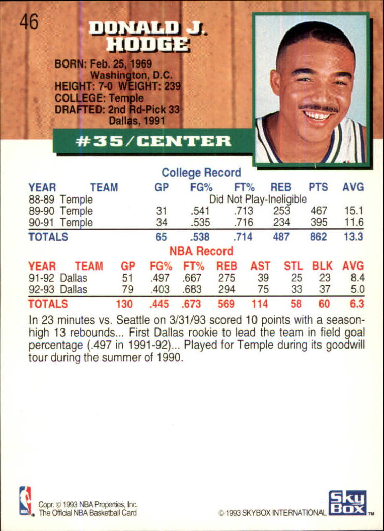 1993-94-Hoops-Fifth-Anniversary-Gold-Basketball-Cards-1-249-Pick-From-List thumbnail 59