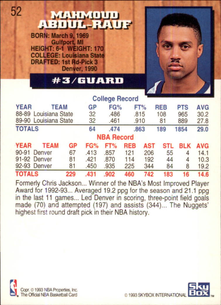 1993-94-Hoops-Fifth-Anniversary-Gold-Basketball-Cards-1-249-Pick-From-List thumbnail 65