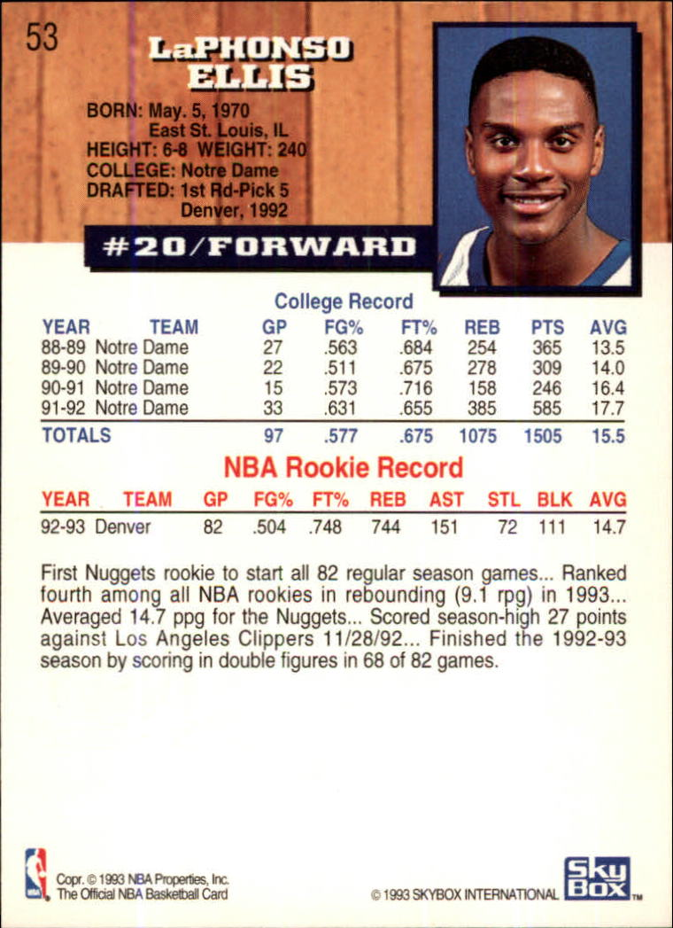 1993-94-Hoops-Fifth-Anniversary-Gold-Basketball-Cards-1-249-Pick-From-List thumbnail 67