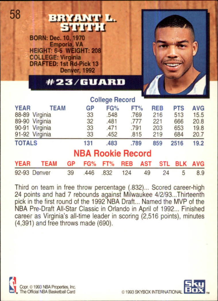 1993-94-Hoops-Fifth-Anniversary-Gold-Basketball-Cards-1-249-Pick-From-List thumbnail 73