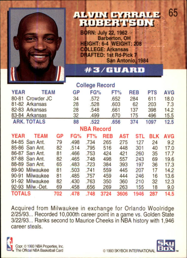 1993-94-Hoops-Fifth-Anniversary-Gold-Basketball-Cards-1-249-Pick-From-List thumbnail 83