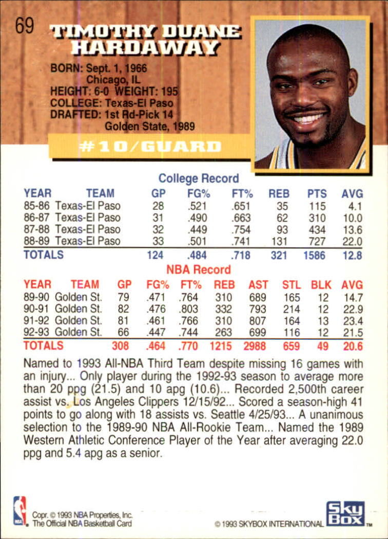 1993-94-Hoops-Fifth-Anniversary-Gold-Basketball-Cards-1-249-Pick-From-List thumbnail 89