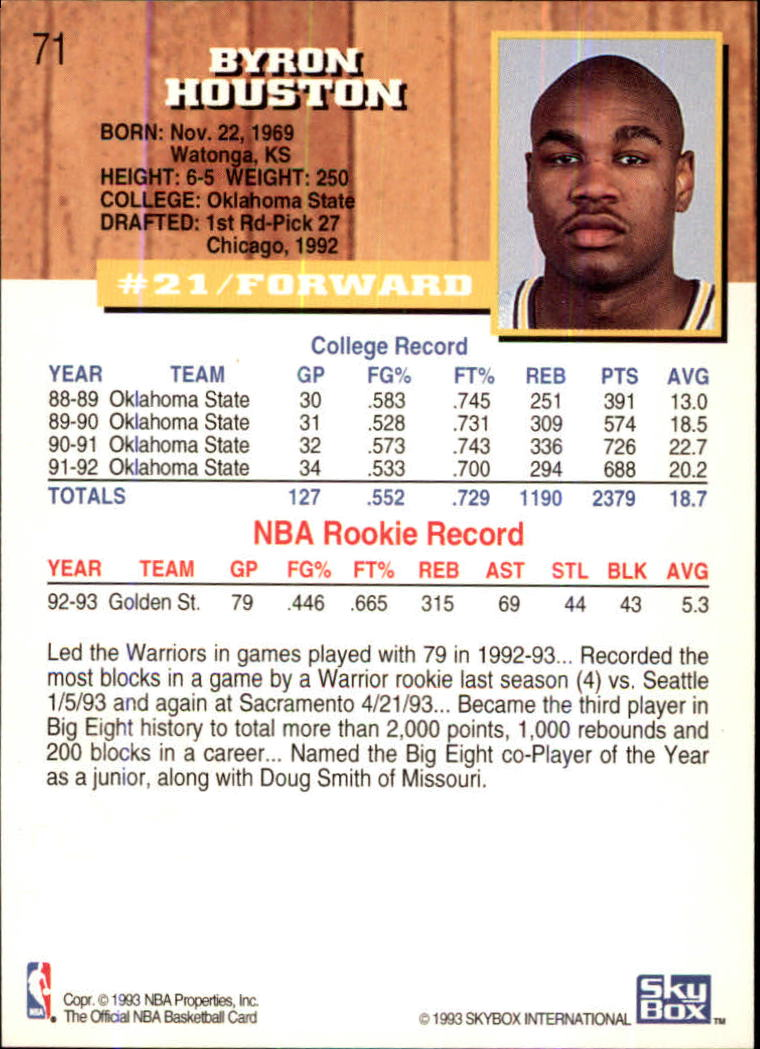 1993-94-Hoops-Fifth-Anniversary-Gold-Basketball-Cards-1-249-Pick-From-List thumbnail 93