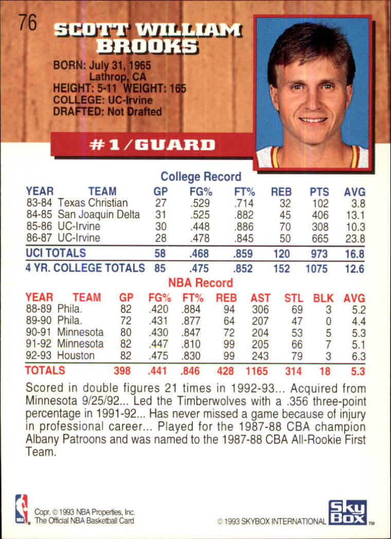 1993-94-Hoops-Fifth-Anniversary-Gold-Basketball-Cards-1-249-Pick-From-List thumbnail 97