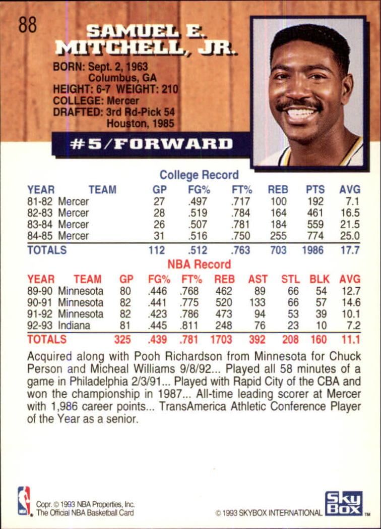 1993-94-Hoops-Fifth-Anniversary-Gold-Basketball-Cards-1-249-Pick-From-List thumbnail 115
