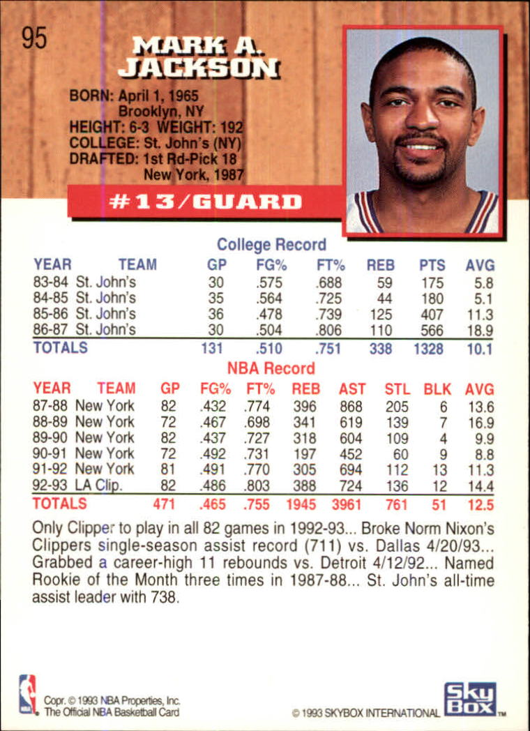 1993-94-Hoops-Fifth-Anniversary-Gold-Basketball-Cards-1-249-Pick-From-List thumbnail 125