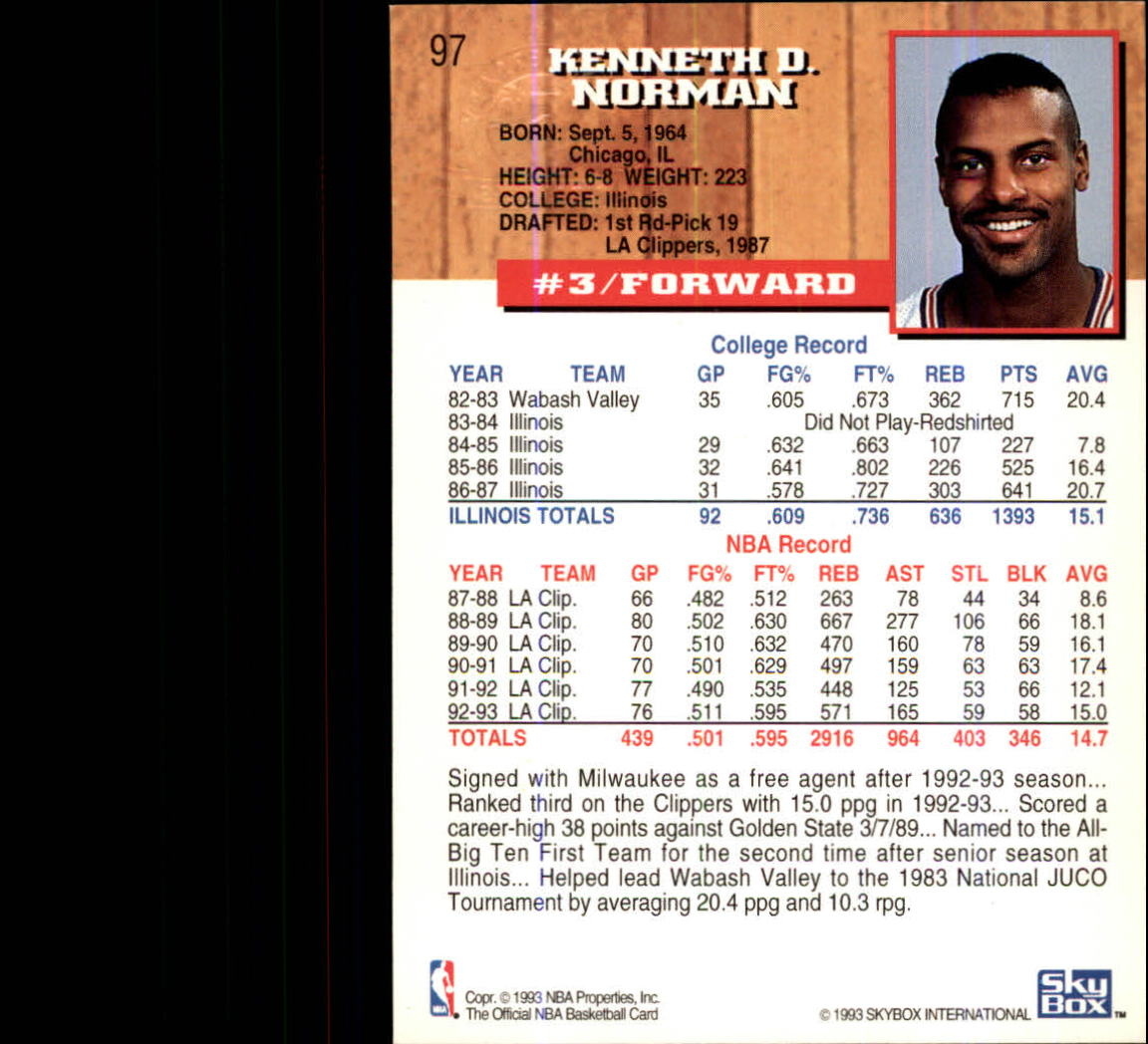 1993-94-Hoops-Fifth-Anniversary-Gold-Basketball-Cards-1-249-Pick-From-List thumbnail 129