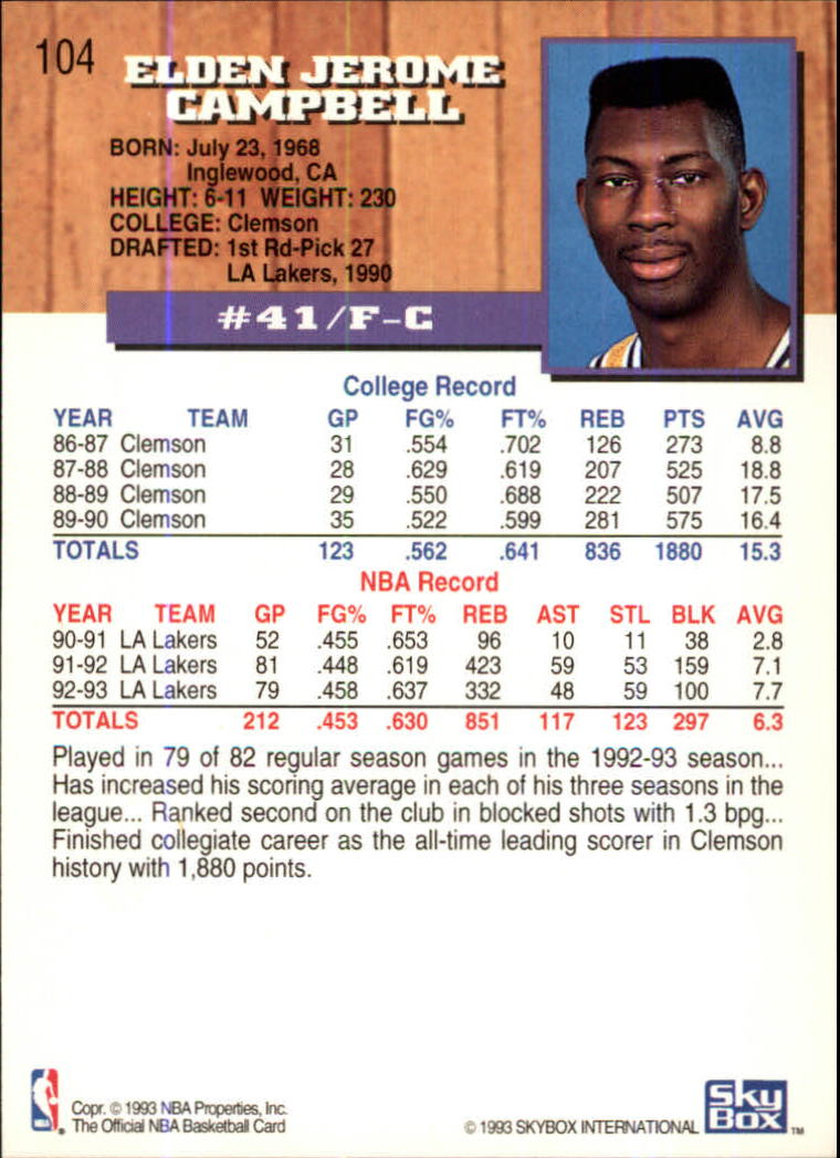 1993-94-Hoops-Fifth-Anniversary-Gold-Basketball-Cards-1-249-Pick-From-List thumbnail 137