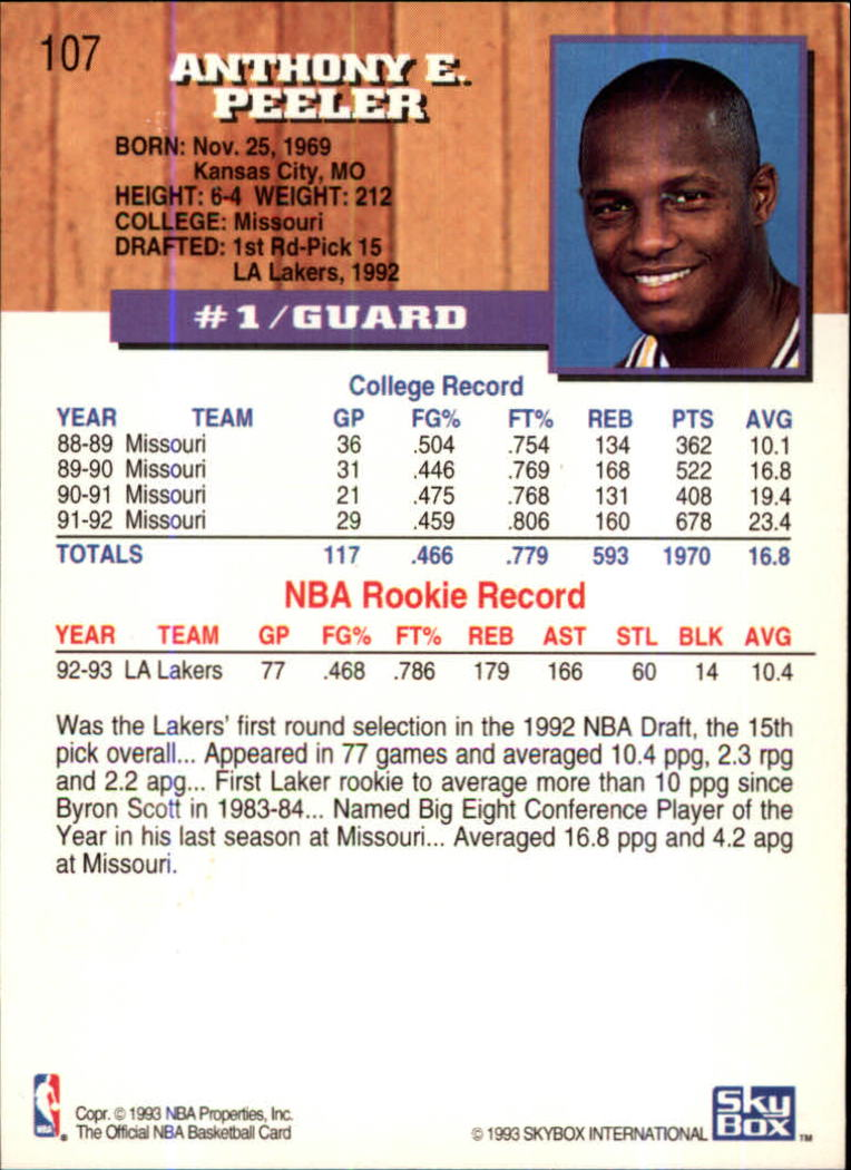 1993-94-Hoops-Fifth-Anniversary-Gold-Basketball-Cards-1-249-Pick-From-List thumbnail 141