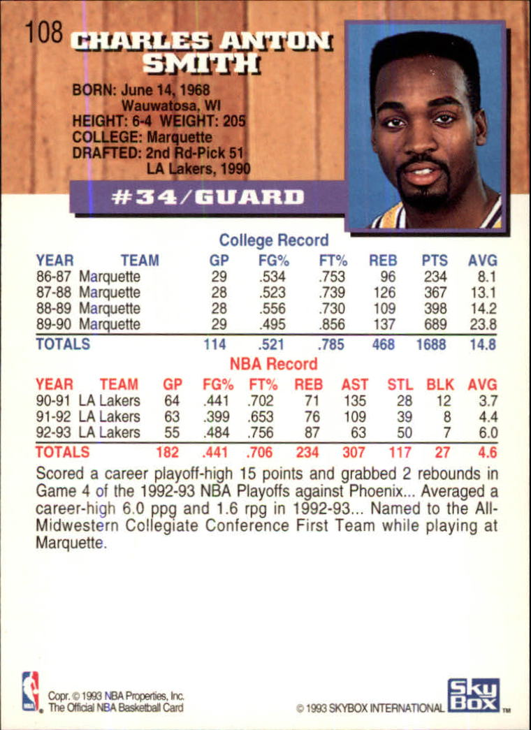 1993-94-Hoops-Fifth-Anniversary-Gold-Basketball-Cards-1-249-Pick-From-List thumbnail 143