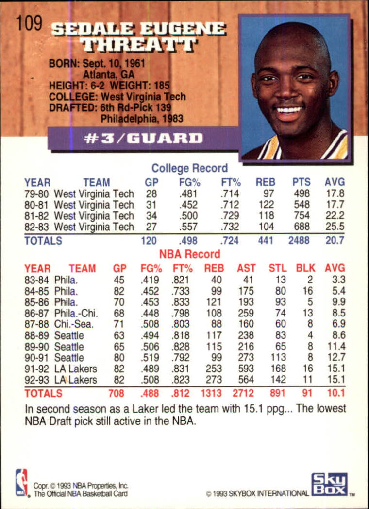 1993-94-Hoops-Fifth-Anniversary-Gold-Basketball-Cards-1-249-Pick-From-List thumbnail 145