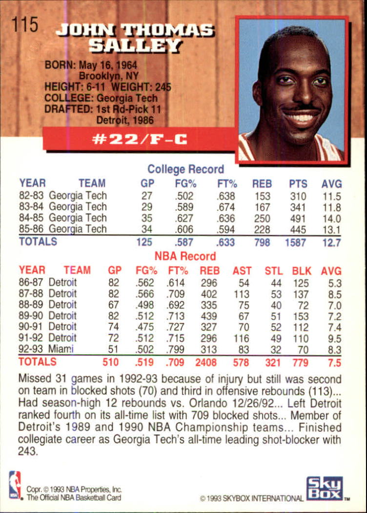 1993-94-Hoops-Fifth-Anniversary-Gold-Basketball-Cards-1-249-Pick-From-List thumbnail 155