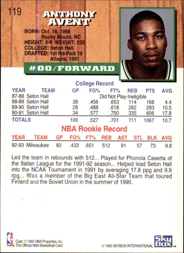 1993-94-Hoops-Fifth-Anniversary-Gold-Basketball-Cards-1-249-Pick-From-List thumbnail 161
