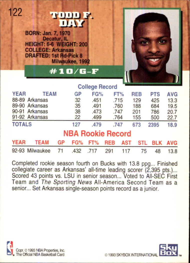 1993-94-Hoops-Fifth-Anniversary-Gold-Basketball-Cards-1-249-Pick-From-List thumbnail 165