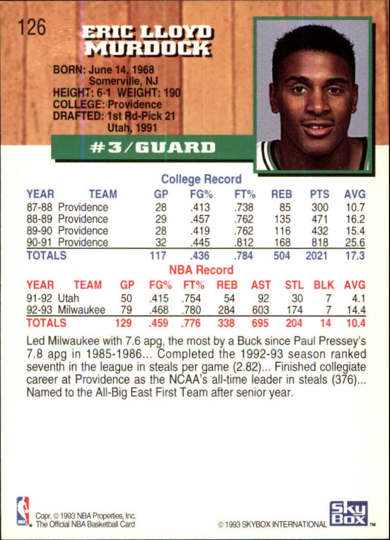 1993-94-Hoops-Fifth-Anniversary-Gold-Basketball-Cards-1-249-Pick-From-List thumbnail 171