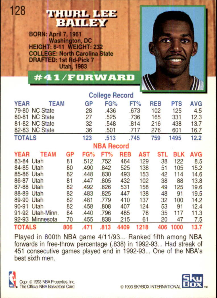 1993-94-Hoops-Fifth-Anniversary-Gold-Basketball-Cards-1-249-Pick-From-List thumbnail 173