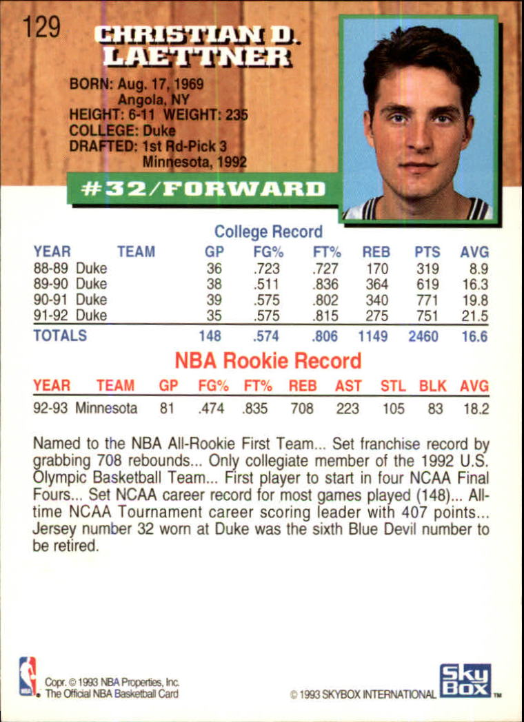 1993-94-Hoops-Fifth-Anniversary-Gold-Basketball-Cards-1-249-Pick-From-List thumbnail 175