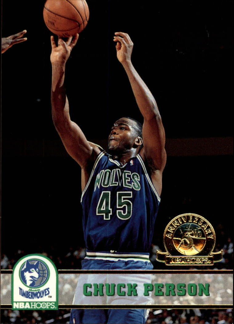 1993-94 Hoops Fifth Anniversary Gold #132 Chuck Person
