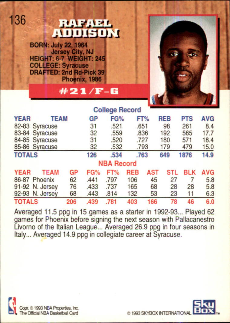 1993-94-Hoops-Fifth-Anniversary-Gold-Basketball-Cards-1-249-Pick-From-List thumbnail 179