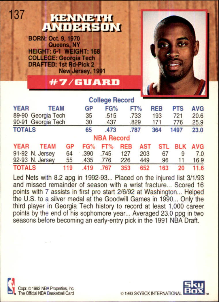 1993-94-Hoops-Fifth-Anniversary-Gold-Basketball-Cards-1-249-Pick-From-List thumbnail 181