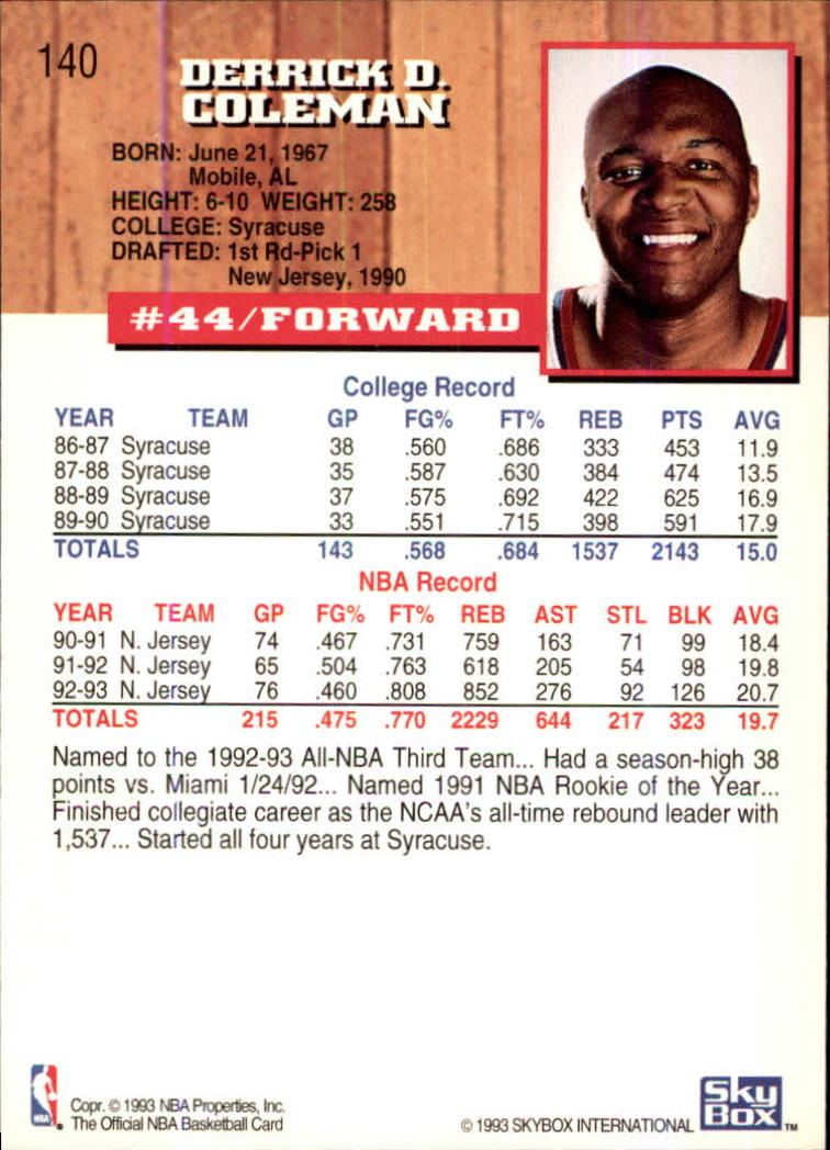 1993-94-Hoops-Fifth-Anniversary-Gold-Basketball-Cards-1-249-Pick-From-List thumbnail 183