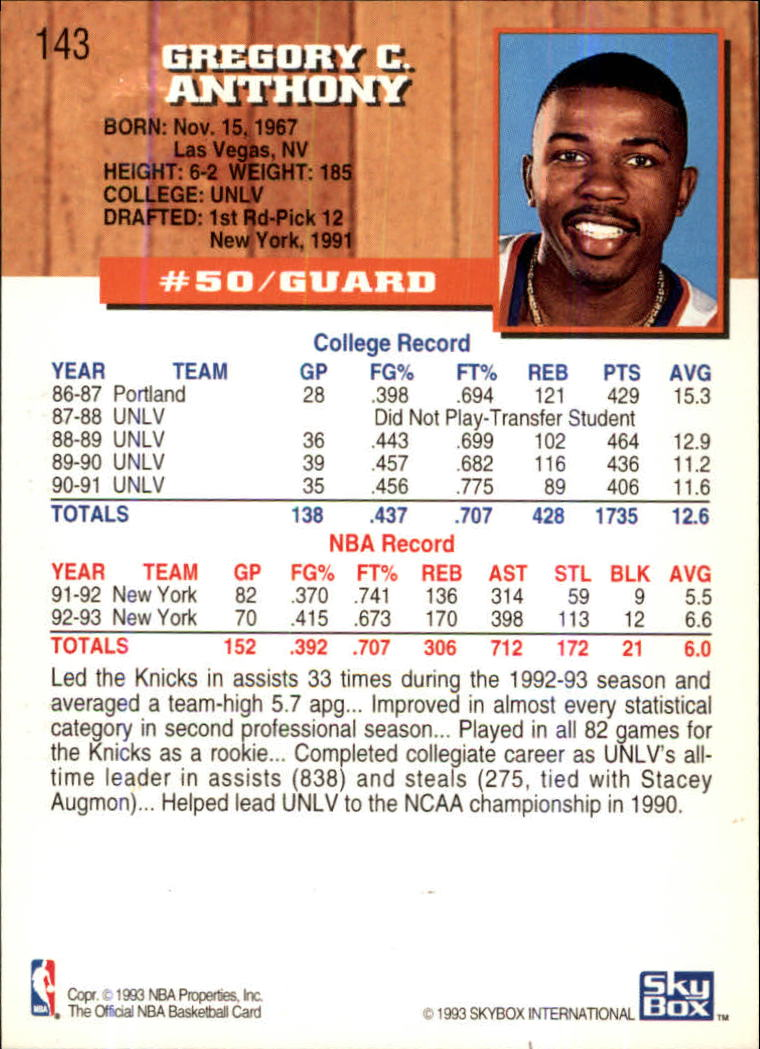 1993-94-Hoops-Fifth-Anniversary-Gold-Basketball-Cards-1-249-Pick-From-List thumbnail 187