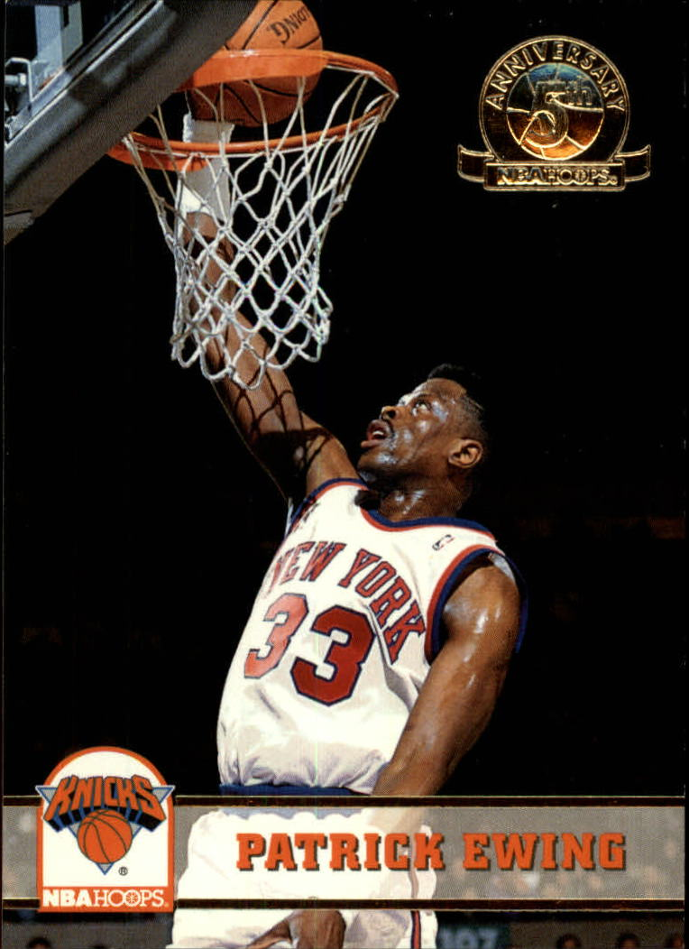 1993-94 Hoops Fifth Anniversary Gold #146 Patrick Ewing