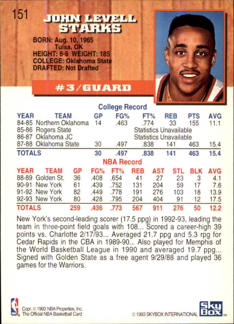 1993-94-Hoops-Fifth-Anniversary-Gold-Basketball-Cards-1-249-Pick-From-List thumbnail 199
