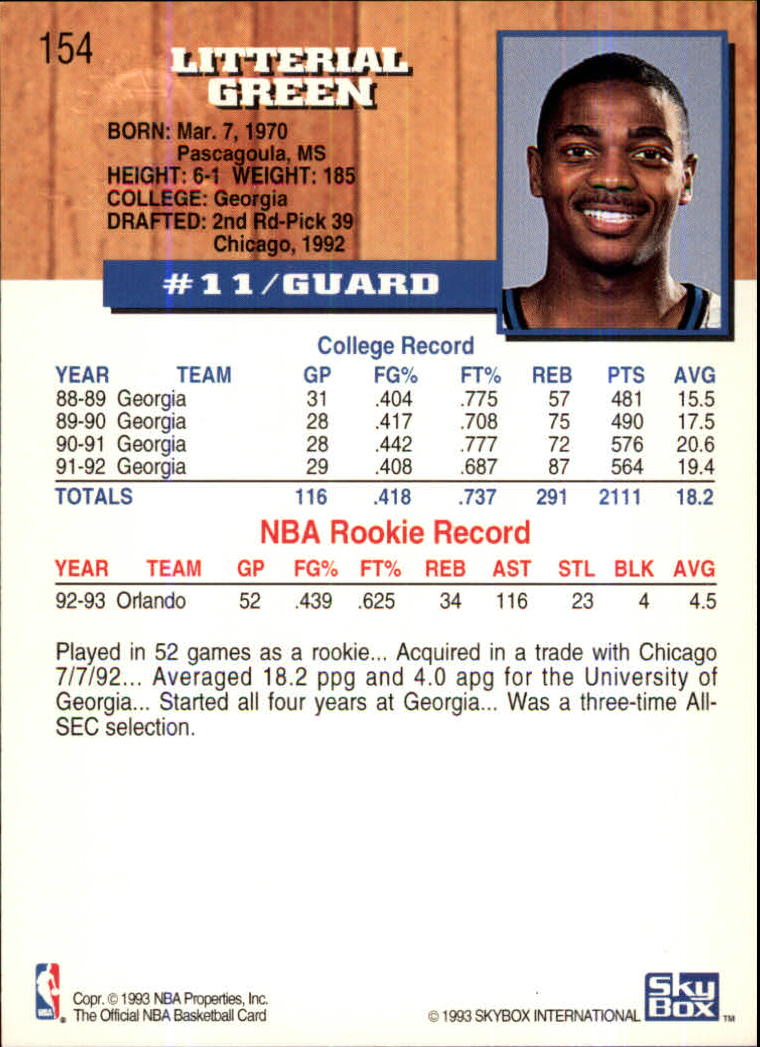1993-94-Hoops-Fifth-Anniversary-Gold-Basketball-Cards-1-249-Pick-From-List thumbnail 203