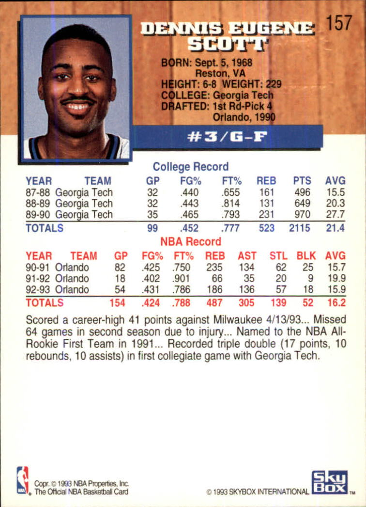1993-94-Hoops-Fifth-Anniversary-Gold-Basketball-Cards-1-249-Pick-From-List thumbnail 207