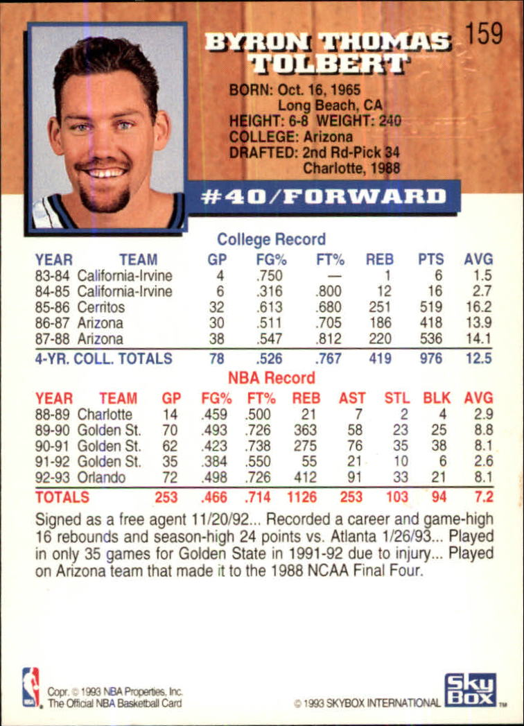 1993-94-Hoops-Fifth-Anniversary-Gold-Basketball-Cards-1-249-Pick-From-List thumbnail 211