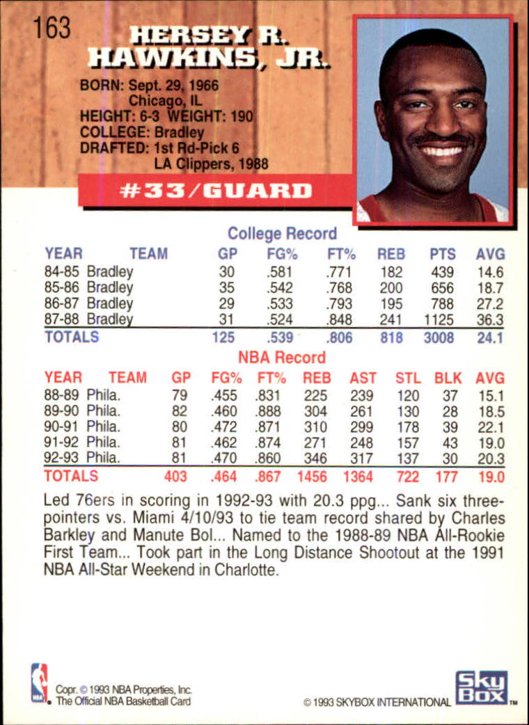 1993-94-Hoops-Fifth-Anniversary-Gold-Basketball-Cards-1-249-Pick-From-List thumbnail 215