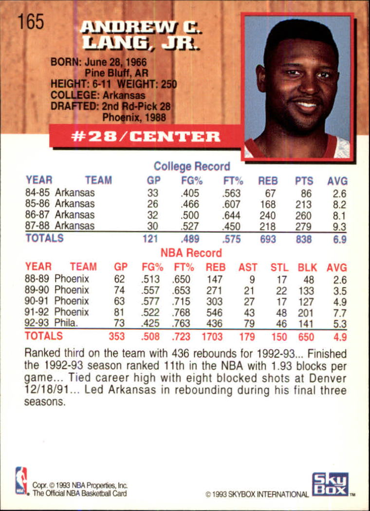 1993-94-Hoops-Fifth-Anniversary-Gold-Basketball-Cards-1-249-Pick-From-List thumbnail 217