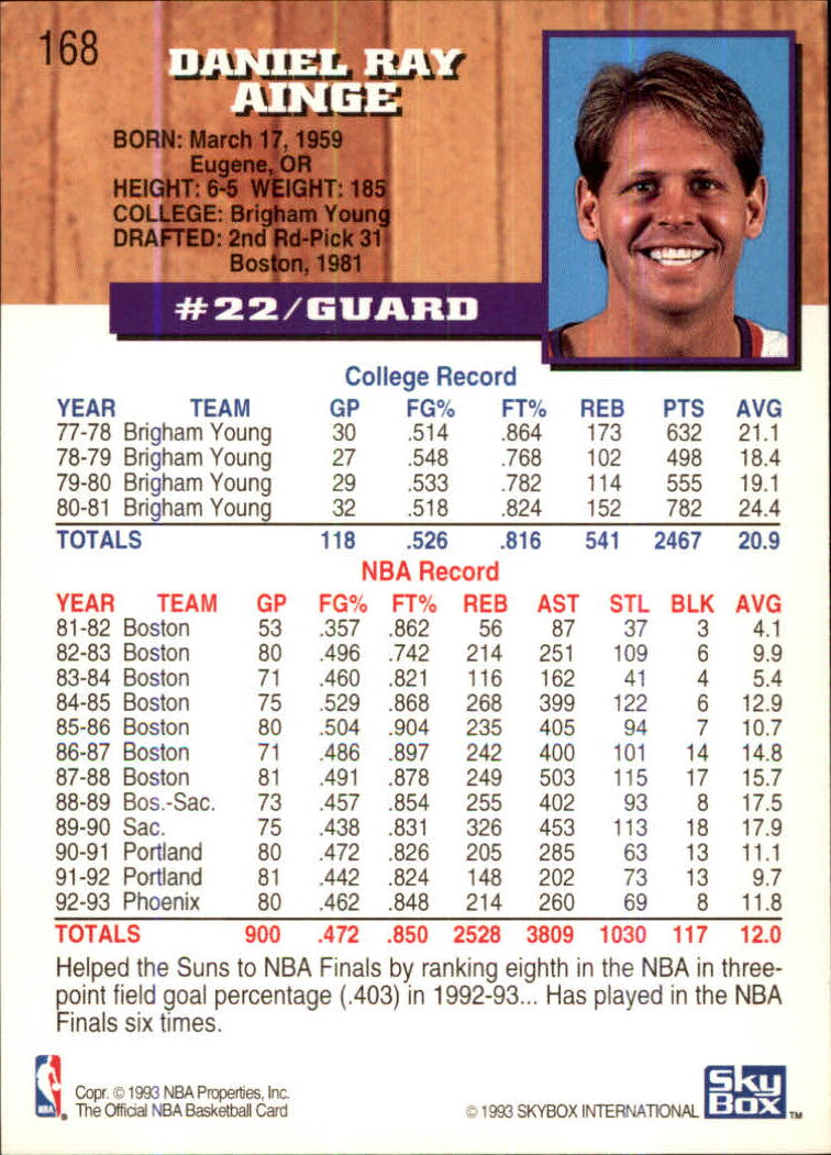 1993-94-Hoops-Fifth-Anniversary-Gold-Basketball-Cards-1-249-Pick-From-List thumbnail 223