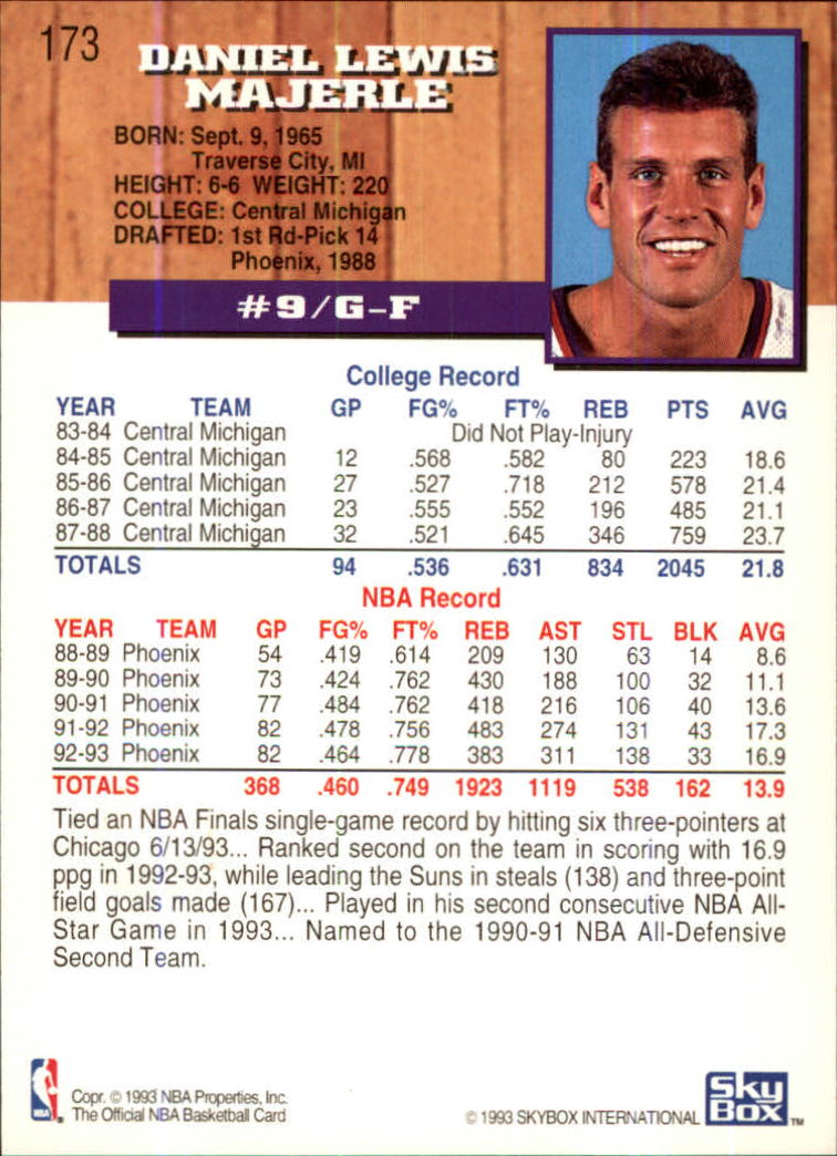 1993-94-Hoops-Fifth-Anniversary-Gold-Basketball-Cards-1-249-Pick-From-List thumbnail 229