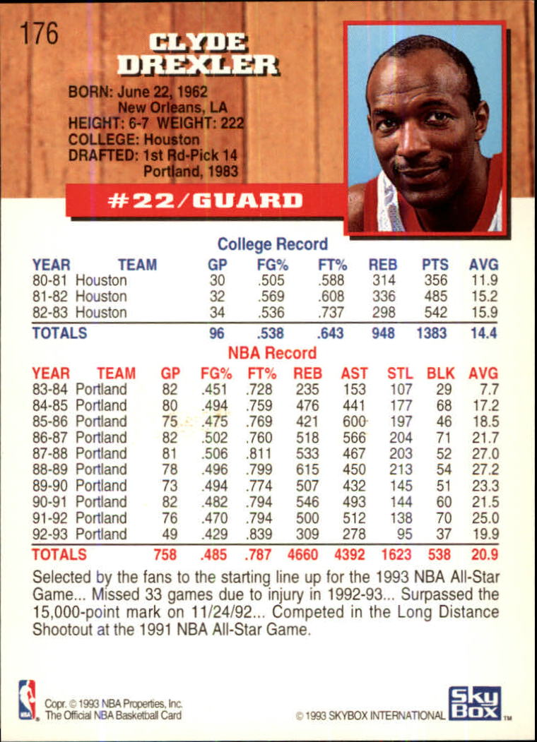 1993-94-Hoops-Fifth-Anniversary-Gold-Basketball-Cards-1-249-Pick-From-List thumbnail 235