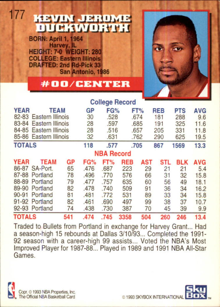 1993-94-Hoops-Fifth-Anniversary-Gold-Basketball-Cards-1-249-Pick-From-List thumbnail 237