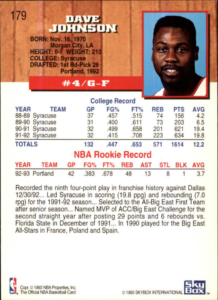 1993-94-Hoops-Fifth-Anniversary-Gold-Basketball-Cards-1-249-Pick-From-List thumbnail 241