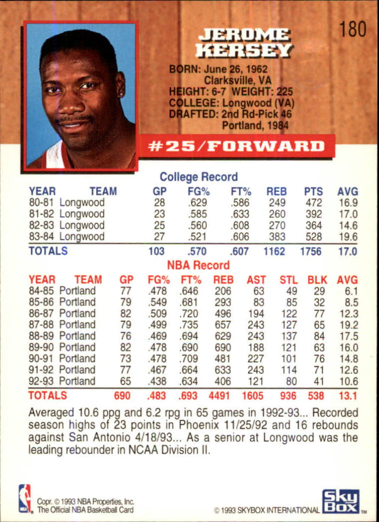 1993-94-Hoops-Fifth-Anniversary-Gold-Basketball-Cards-1-249-Pick-From-List thumbnail 243